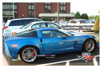 2008 Corvette in Jetstream Blue Metallic