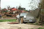 Tornado Destroys Two Corvettes in Rural Iowa