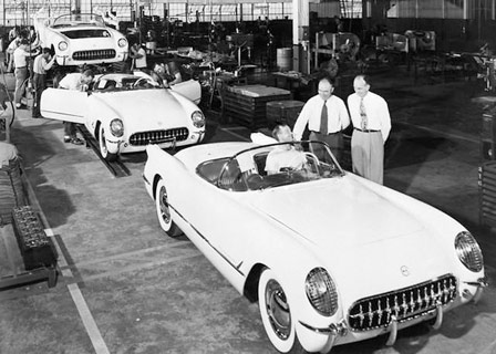 First Corvettes Rolled off Flint Assembly Line 56-years Ago Today