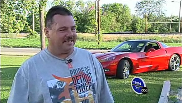 [VIDEO] Chrysler Autoworker Wins Powerball Lottery, Buys A Corvette