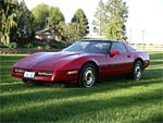 1985 Corvette Coupe