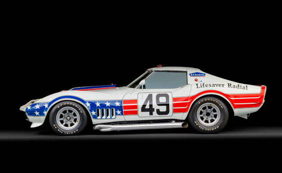 1969 BFG Stars & Stripes Corvette Racer Headed to RMs Monterey Auction