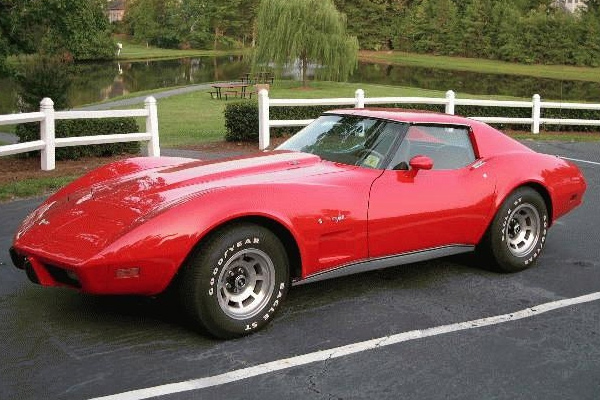 77 corvette value