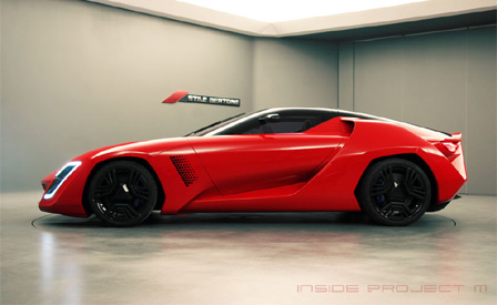Corvette ZR1-based Bertone Mantide Seeking Nurburgring Status