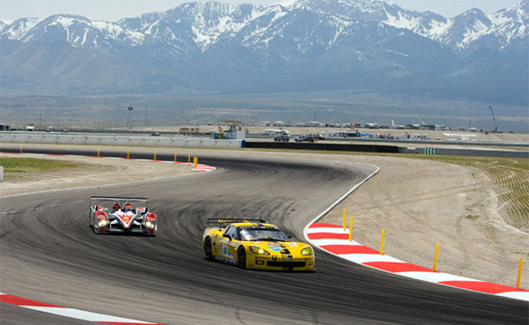 Corvette Racing Faces Test at the ALMS Utah Grand Prix