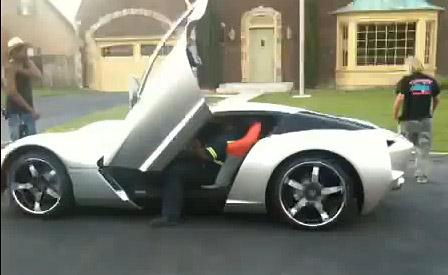 Walk Around the Transformer's Corvette Stingray Centennial Concept