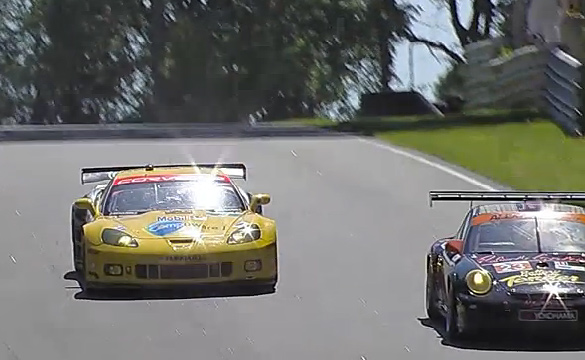 Corvette Racing at the ALMS Northeast Grand Prix