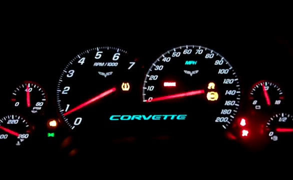 [VIDEO] 2010 Corvette Grand Sport Nighttime Startup
