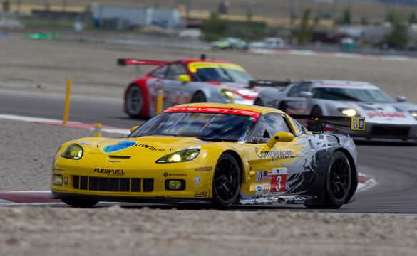Corvette Racing Takes Third in Eventful Utah Grand Prix