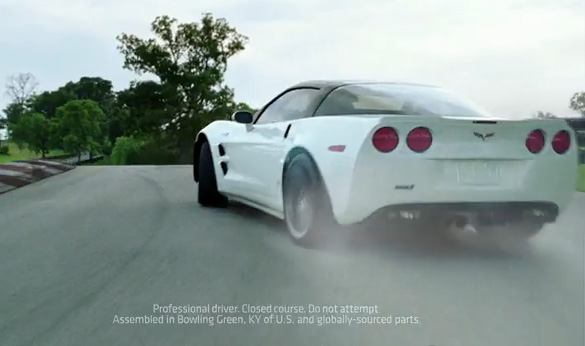 [VIDEO] 2011 Chevrolet Corvette - Still Building Rockets