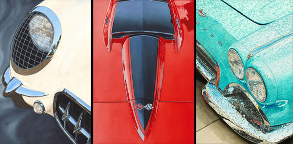 Corvette Artwork: Dan McCrary Automotive Art