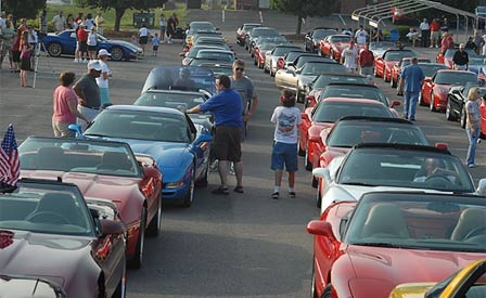 National Corvette Homecoming To Be Held This Weekend