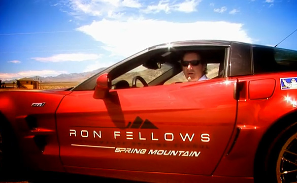 [VIDEO] Chevrolet Corvette ZR1 Track Attack with Ron Fellows