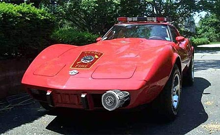Fire chief selects a 1978 corvette for command car corvette sales corvette documentation aloadofball