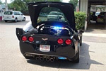 Po-Po Driving a Confiscated Corvette Z06 in Raleigh, NC