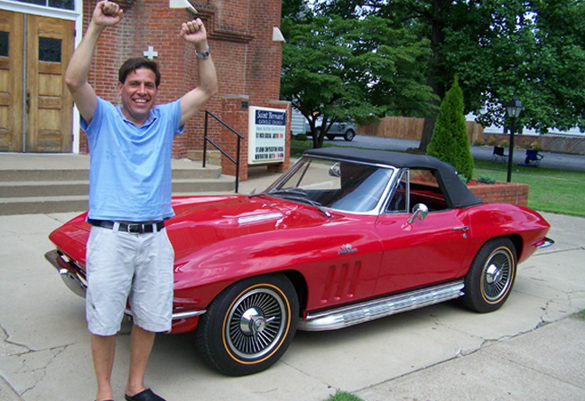[VIDEO] Raffle Winner Picks Up 1965 Corvette Convertible