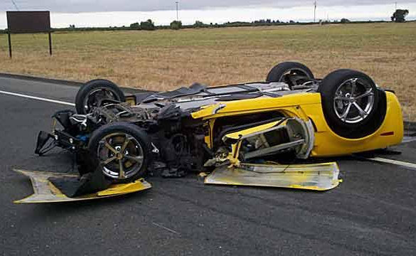 Grand Sport Corvette Destroyed in Lodi DUI Crash