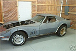 1969 Corvette Convertible with an L89