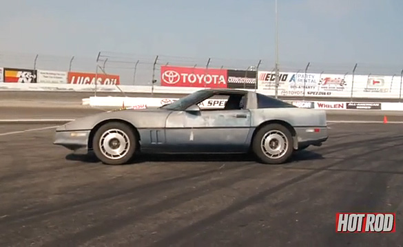 Video Hot Rod Magazine Destroys A C4 Corvette Corvette