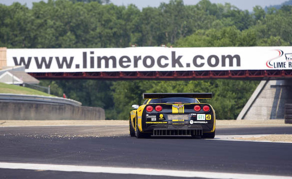 Corvette Racing at Lime Rock: Into the Arena