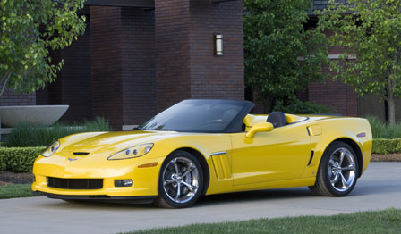 Official Price List for the 2010 Corvette Model Year