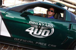 GM Goes Green with Latest Brickyard 400 Corvette Pace Car