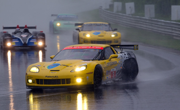 Corvettes Qualify Fourth and Sixth in Rainy Lime Rock
