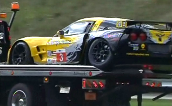 [VIDEO] Wheels Come Off 2010 ALMS Season for Corvette Racing