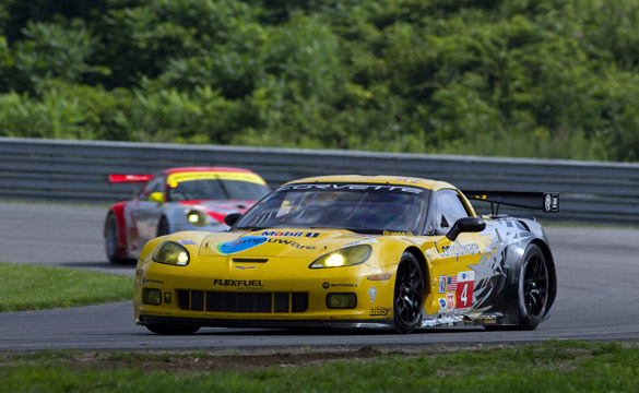 Rocky Road for Corvette Racing in Lime Rock ALMS