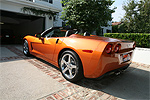 2007 Atomic Orange Corvette