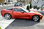 2006 Daytona Sunset Orange Metallic Corvette