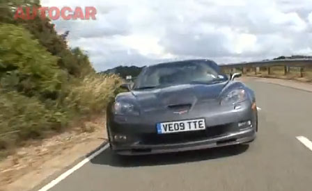 What is this Corvette ZR1 Chasing?