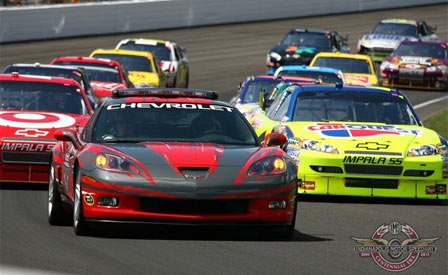 Corvette Z06 Pace Car Leads The Pack at NASCAR's Allstate 400