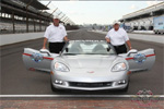 Corvettes at the Allstate 400