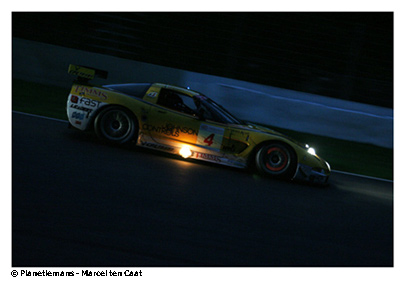 Corvette in the lead at the 24 Hours of Spa