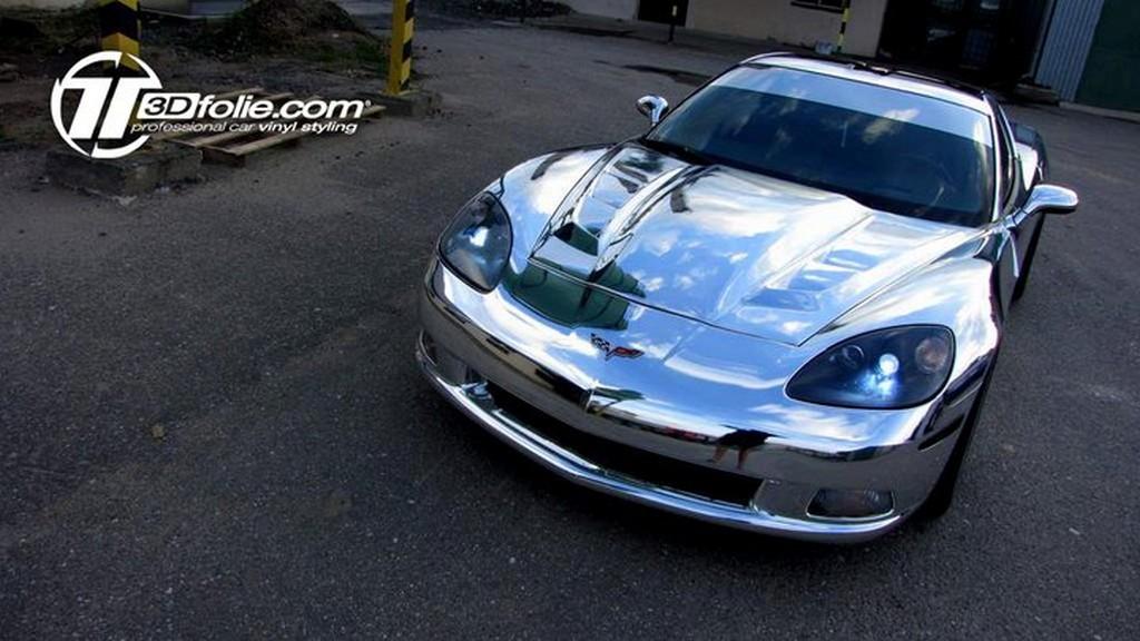 Corvette Gets A Chrome Wrap By Czech Tuner Corvette