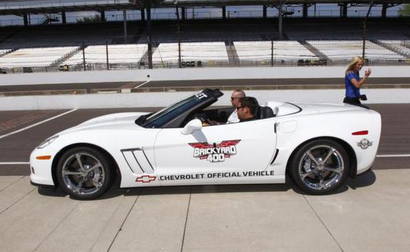 [PICS] 2011 Brickyard 400 Grand Sport Corvette Festival Car