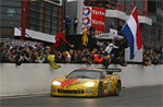 Carsport Holland's #5 Corvette C6.R wins the 24 Hours of Spa