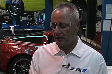 Dave Ressler at the Corvette Assembly Plant