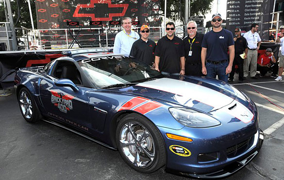 [PICS] Corvette Grand Sport Revealed as Brickyard 400 Pace Car