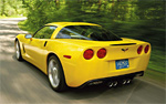 2008 Velocity Yellow Corvette Coupe