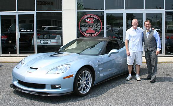 Lance Miller's New Carlisle Blue 2012 Corvette ZR1