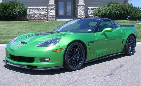 synergy green camaro. Sport in Synergy Green