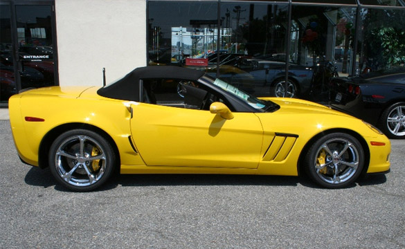 July 2011 Corvette Sales