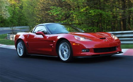 The 6.2L Supercharged Corvette ZR1 at the Nurburgring