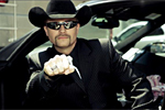 John Rich in his 2005 Corvette