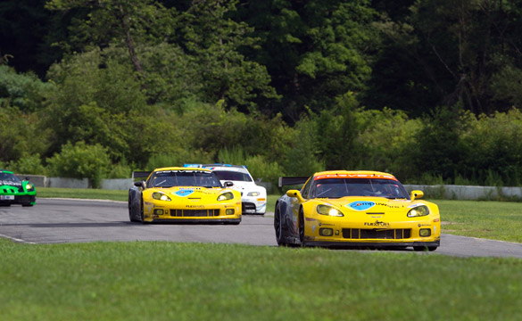 Corvette Racing Qualifies Third and Fourth for Mid-Ohio ALMS