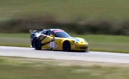 GT2 Corvette C6.R shakedown