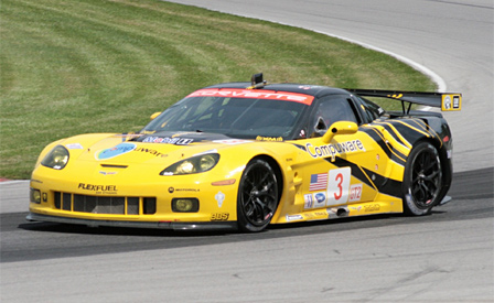 #3 Corvette C6.R earns 2nd Place GT2 Finish at Mid Ohio