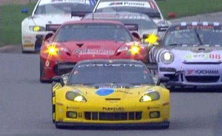 Corvette Racing's C6.R GT2 Debut at Mid-Ohio 2009